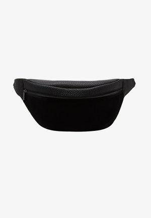 UNISEX LEATHER - Bæltetasker - black