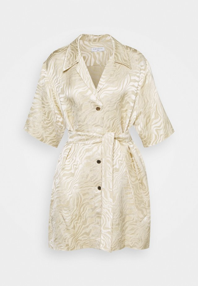 Skjortklänning - sable