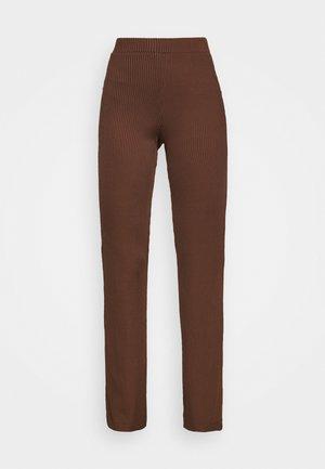 RACK - Trousers - ebony