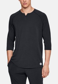 Under Armour - RECOVERY - Long sleeved top - black - 0