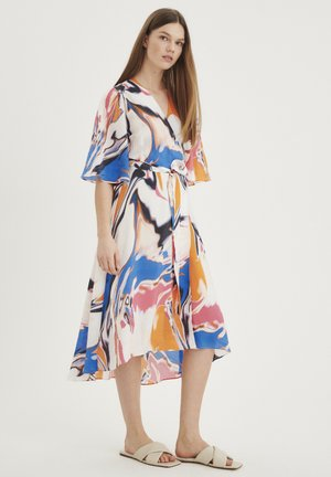 Day dress - multicolour floating oil