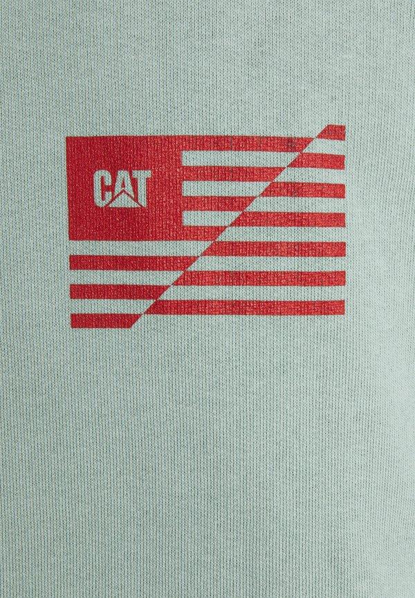 Caterpillar WORKWEAR HOODIE - Bluza - mint/miętowy Odzież Męska AWQV