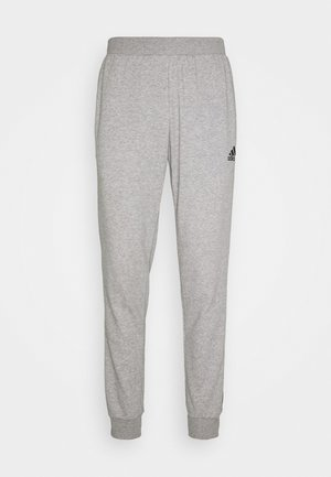 ESSENTIALS TRAINING SPORTS PANTS - Pantalones deportivos - grey/black