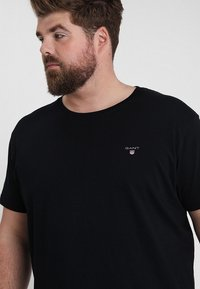 GANT - THE ORIGINAL - Basic T-shirt - black - 4