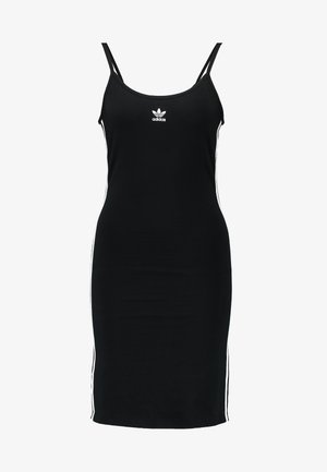 TANK DRESS - Robe fourreau - black/white