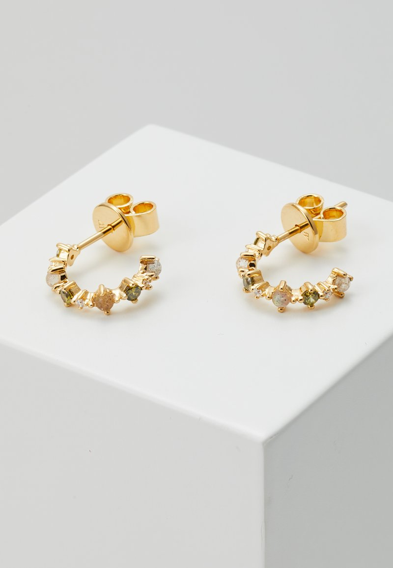 P D Paola - GLORY EARRINGS - Náušnice - gold-coloured