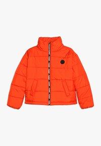 Hummel - NORTH - Winter jacket - tangerine tango - 0