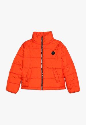 NORTH - Winter jacket - tangerine tango