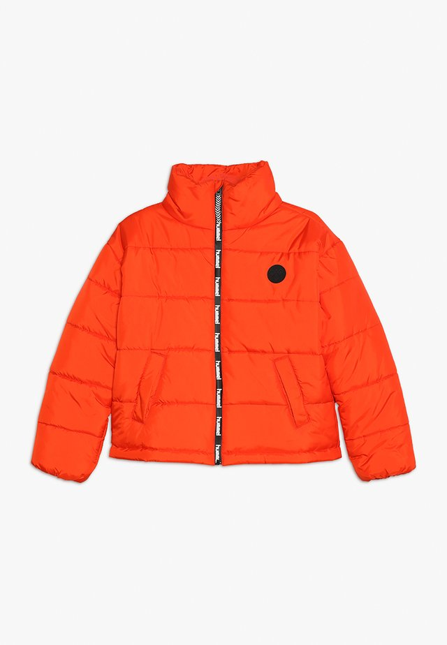 NORTH - Winter jacket - tangerine tango