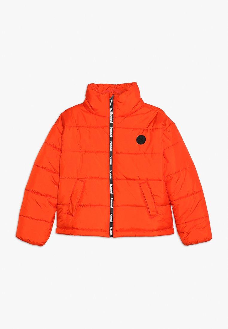 Hummel - NORTH - Winter jacket - tangerine tango