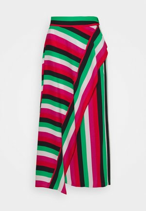 CARSON STRIPE SKIRT - Maksihame - multi-coloured