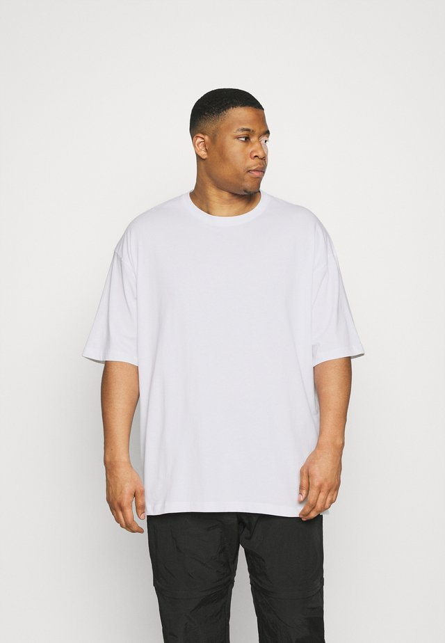 OVERSIZED TEE BIGUNI - T-shirt basique - white