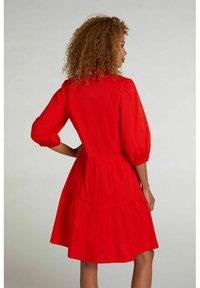 Oui - Day dress - fiery red - 2