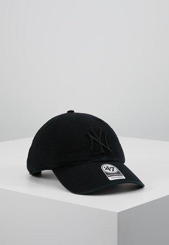NEW YORK YANKEES CLEAN UP - Kšiltovka - black