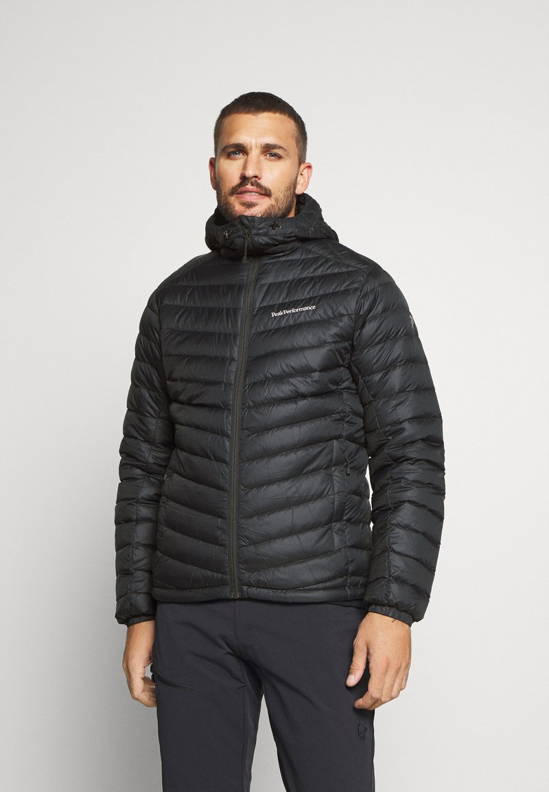 Peak Performance - FROST HOOD JACKET - Down jacket - black