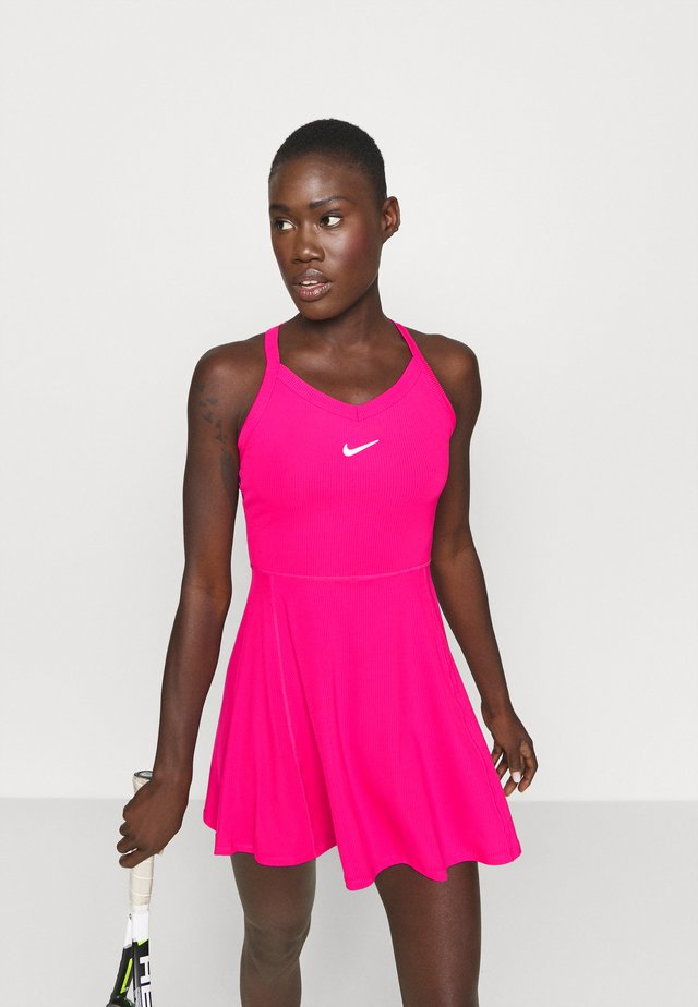 DRY DRESS - Sukienka sportowa - vivid pink/white