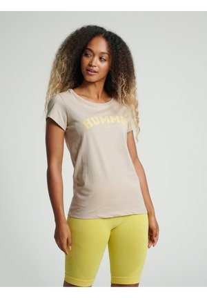 HMLCYRUS - T-Shirt print - humus