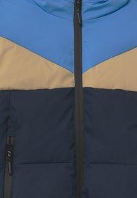 Gosoaky - WORKING WEASEL UNISEX - Winter jacket - marina blue/multicolour - 5