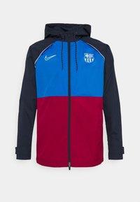 Nike Performance - FC BARCELONA  - Club wear - soar/noble red/obsidian/pale ivory - 4