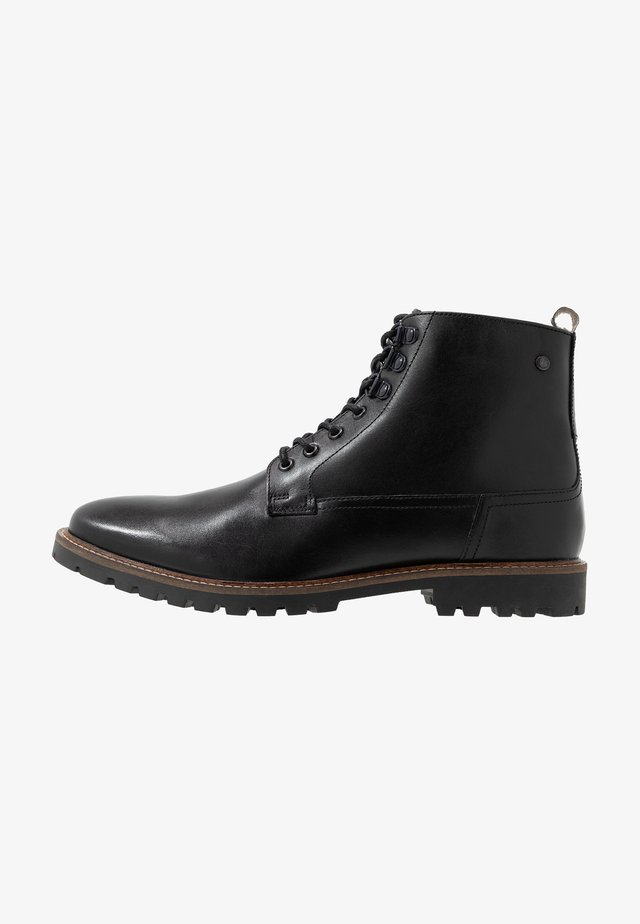 CALLAHAN - Bottines à lacets - black