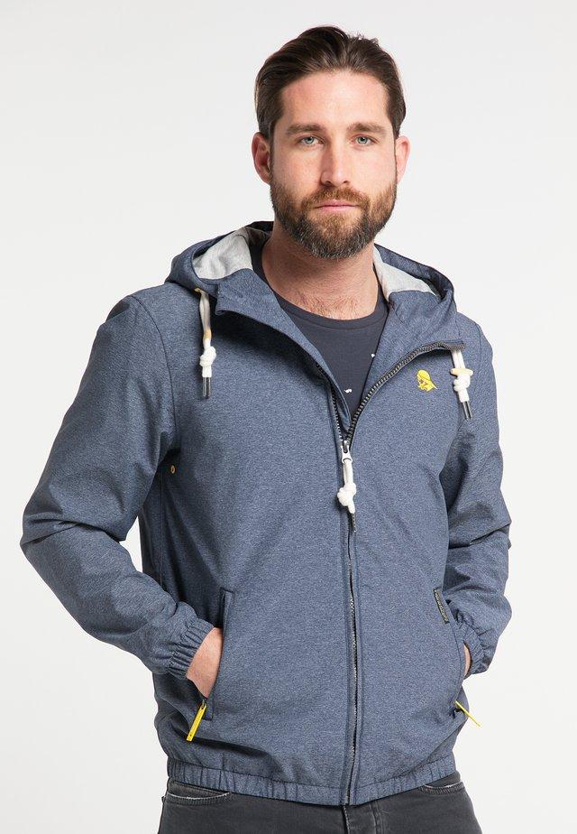 Outdoor jakke - marine melange