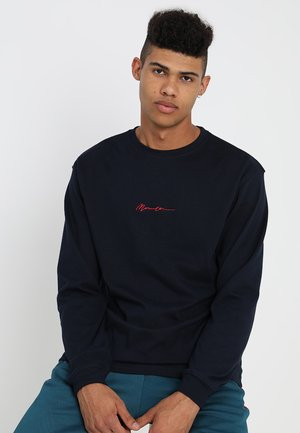 ESSENTIAL SIGNATURE TEE - Long sleeved top - navy