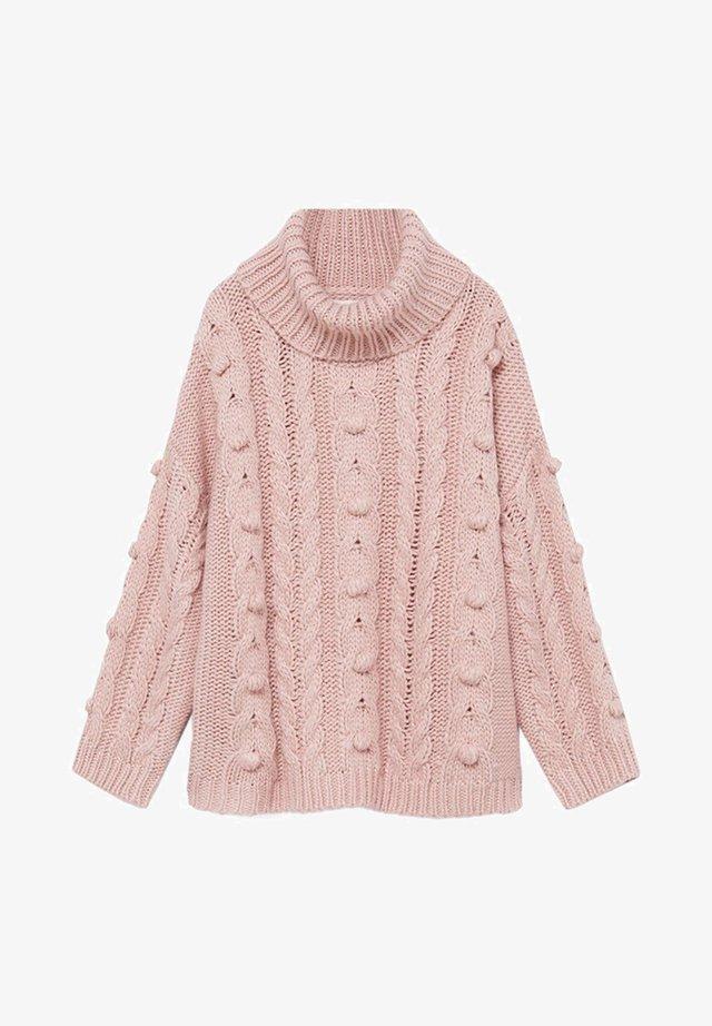 LUNA - Strickpullover - rosa