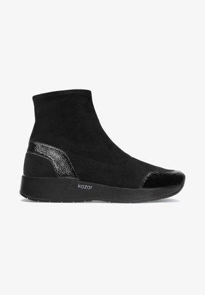 LESLIE - Sneakers hoog - black