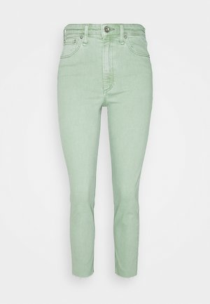 NINA HIGH RISE ANKLE CIGARETTE  - Jeans Skinny Fit - seafoam