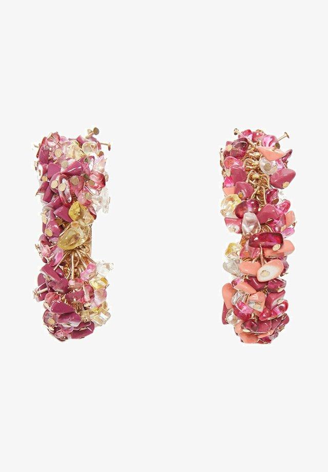 Náušnice - pink