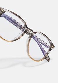 QUAY AUSTRALIA - CTRL BLUE LIGHT - Blue light glasses - brown - 4