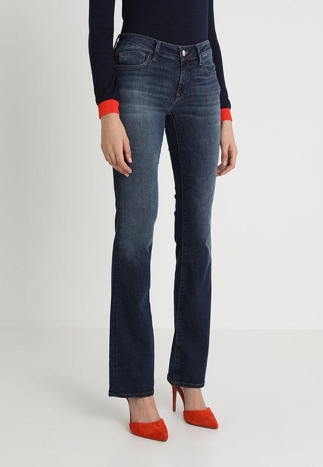 BELLA - Jeans bootcut - dark indigo
