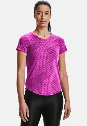 RUNCLIPSE SS - Print T-shirt - meteor pink