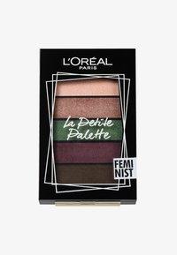 L'Oréal Paris - LA PETITE PALETTE - Øjenskyggepalette - 5 feminist - 0