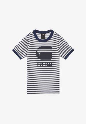 T-shirt con stampa - blue/white