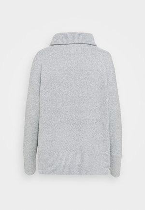 VMDOFFY COWLNECK - Strikkegenser - light grey melange