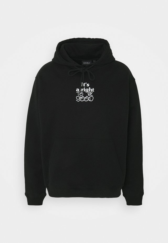 ALRIGHT HOODY - Sweatshirt - black