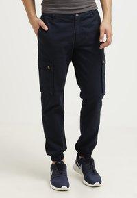 Pier One - Cargo trousers - dark blue - 1