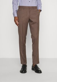 Isaac Dewhirst - PLAIN SUIT - Kostym - brown - 3