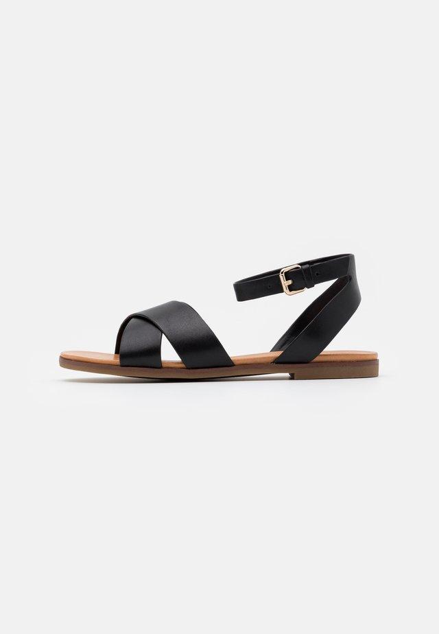 WIALIA - Sandals - black