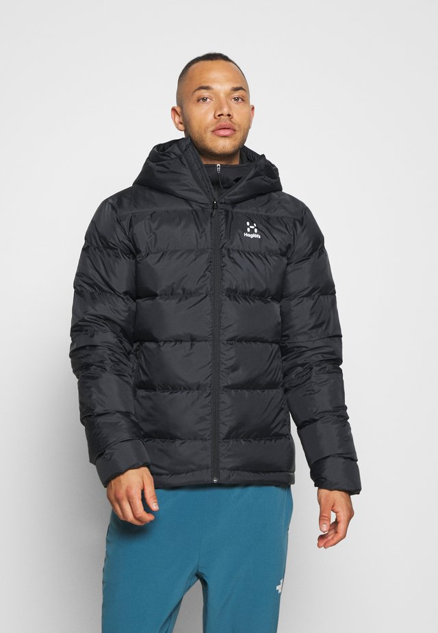 BIELD DOWN HOOD  - Down jacket - true black