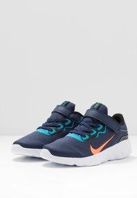 Nike Sportswear - EXPLORE STRADA - Sneakers basse - midnight navy/lemon/black/anthracite - 3