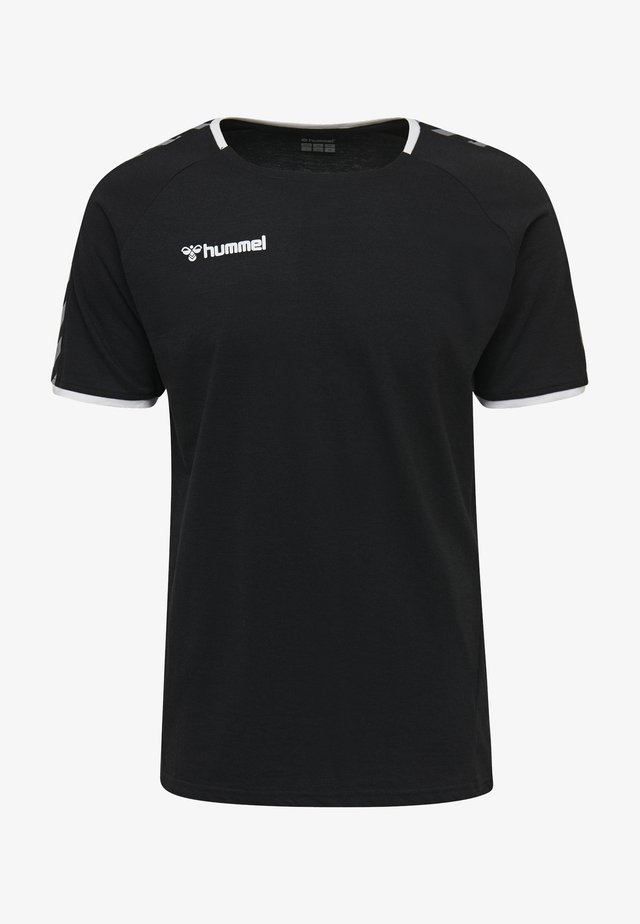 HMLAUTHENTIC - T-shirt print - black/white