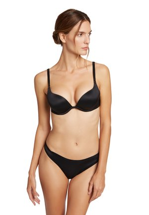 SHEER TOUCH  - Strapless BH - black