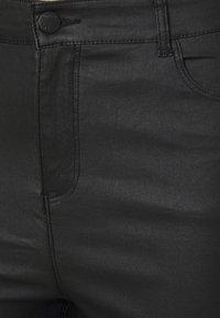 Simply Be - HIGH WAIST SKINNY - Skinny džíny - black - 6