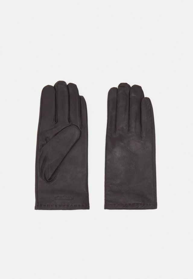 GLOVES - Hansker - brown