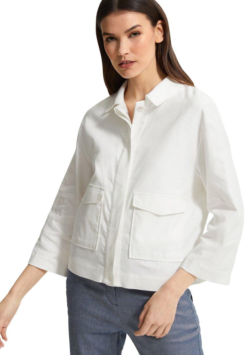 comma - Summer jacket - white