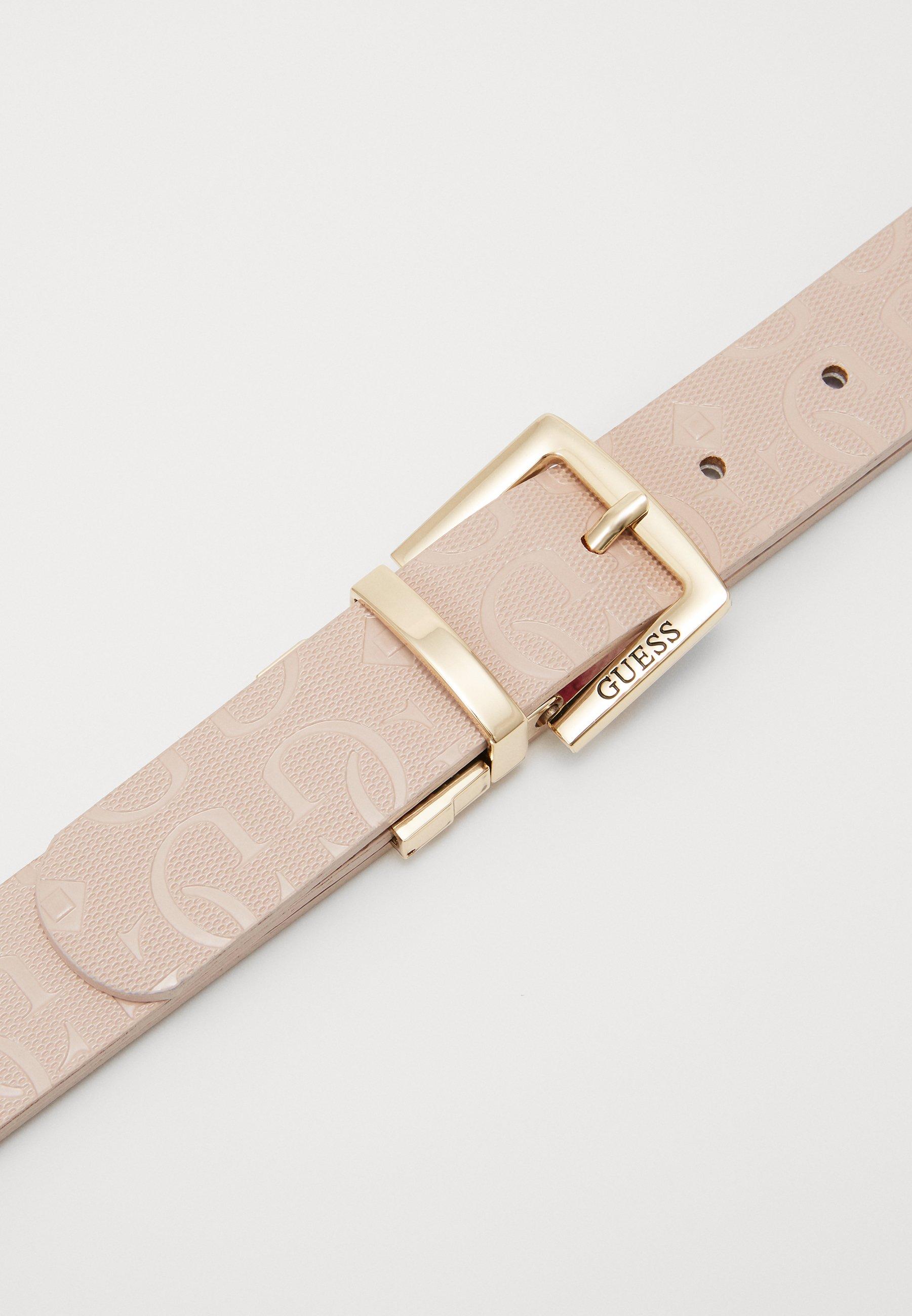 Guess CHIC SHINE PANT BELT - Belte - blush/rosa yS2mxndOeTtwktR