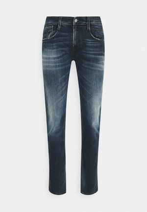 ANBASS BIO - Slim fit jeans - dark blue