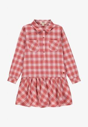 Shirt dress - pastel pink